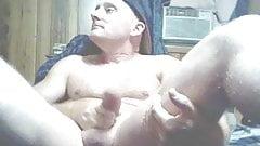 Biggdan playing with and sucking his big cock