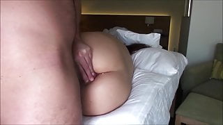 anal and vaginal fuck closeup