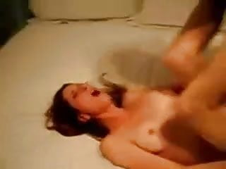 Over nude White bitch cums over and over interracial sex