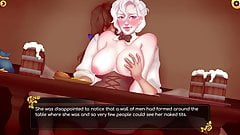 Rise of the White Flower - barmaid masturbated on public (7)