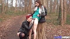 Carole and Pauline two naughty girls who love cock