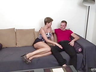 Amateur boys first time free video - German milf in first time casting porn with young boy