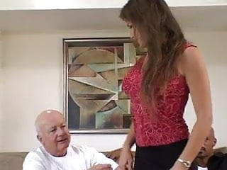 Hand milf - Husband holds wifes hand while taking bbc