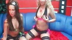 Two Hot Lesbian Teens On Webcam