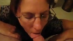 Big ass Mature gets facial