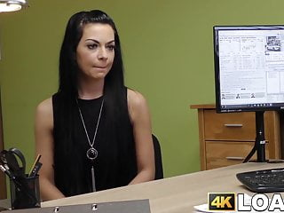 Girl fucking for money - Young girl is willing to fuck fake loan agent for money