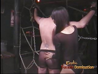 Bondage girls hands being tied - Extremely horny stallion likes being tied up and whipped