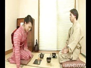 Asian green tea Lovely geisha yayoi yanagida serves up more than tea when