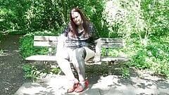 Miss Lydia from Preston enjoying a well earned break