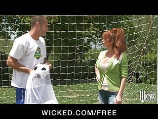 Jock porn sports uk Wicked - big-tit uk soccer mom lia lor fucks her sons coach