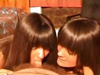 Bukkake pee movies twin sisters Twin sisters sucking a small cock