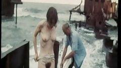 Scena filmowa. Anna Molchanova pokazuje swój ładny krzew