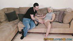 Amateur stepsister pound