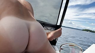 Watching wife getting fucked on our boat