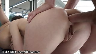 21Sextury 1 Cock For 2 Asses and Throats