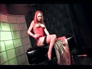 Free gay dped vids Kinky redhead audrey dped in stockings and garter
