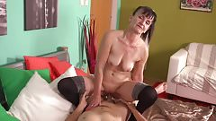 Hot milf and her younger lover 650