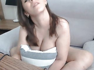 Boobs naked erect nipples Cute brunette shows big boobs and erect nipples on cam 2