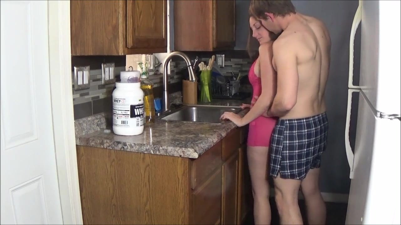 Step Mom Fucked Kitchen