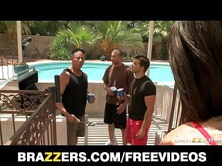 Hot horny wet teen movies - Brazzers - hot horny teen is gangbanged by her dads friends
