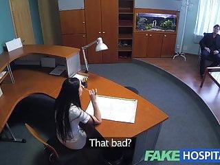 Sexy nurse graphics - Fakehospital businessman gets seduced by sexy nurse in stock