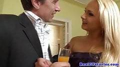Swinging euro housewives double penetration