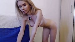 Russian Teen Perfect Body Big Silicone Tits n cameltoe pussy