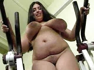 Japanese women working out in the nude - Big tits british kerry marie working out nude