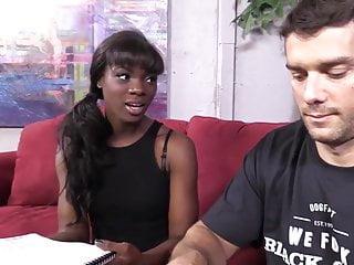 Gay white guys fucking Black chick ana foxx hard fucked by two white guys