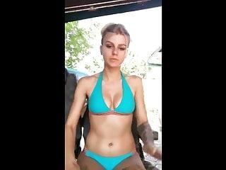 Boobs jumping video Enjoy my jumping boobs