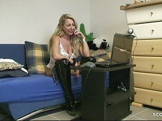 Daughter fucks boyfriend with mom slutload German stepmom fuck the new young boyfriend of her daughter