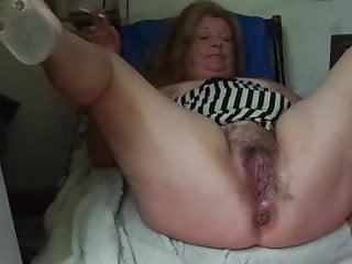 Big naked vagina Stepmommy shows me her big vagina