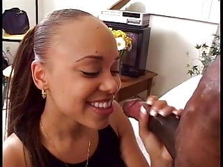 Long cocks fucking movie galleries - Amateur ebony babe sucks and fuck long black cock on couch