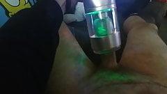 Masturbation with masturbator