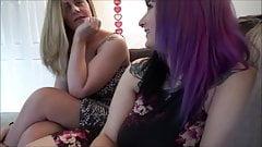 Thick Milfs Share Cock - Sabrina Violet & Clover Baltimore