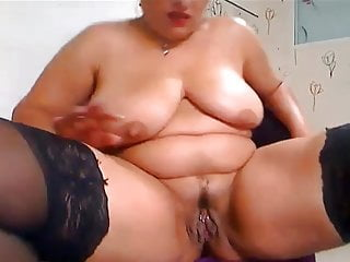 Fat girl anal - Fat mature and fist anal