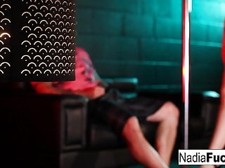 Indian sexy nadia Sexy blonde stripper nadia white gives more than a lapdance