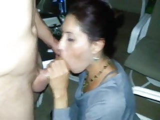 Girl blows tranny - Girl blows her boyfriends friend at a pool party