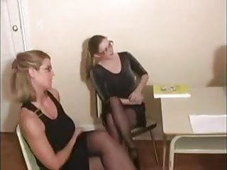 Two women pissing Two women jerking a man wf