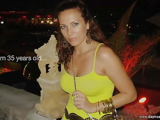 Nude milf stockings - Perfect hungarian milf orchidea nude on erotic makeover