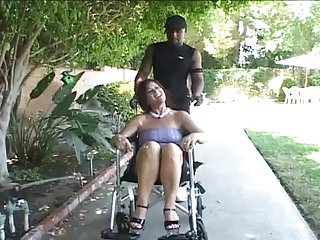Dick cheney wheelchair Mature wife in wheelchair seduce young black guy