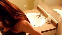 Hot College Dorm  Caught Naked In Bathroom