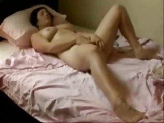 Teen bed room set - Caught my aunt masturbating in her bed room