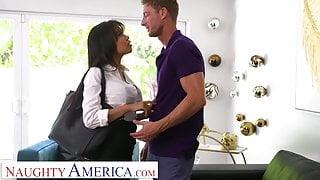 Naughty America - Gia Milana fucks her boss' husband