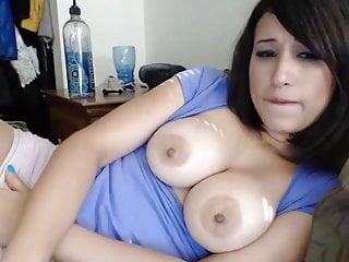 Pretty nice tits Nice tiits of this pretty latin woman...