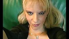 Blonde sucks and fucks