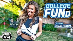 Jade Reign - WankzVR - College FUNd