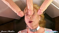 Dildo Mega Bukkake – 3 Squirting Dildos & Fucking Machine