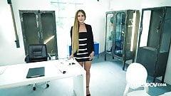 Mary Rock the sexy secretary - itsPOV