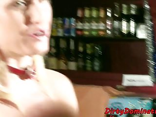 Asian strapon domination - Afterparty strapon domination and spanking